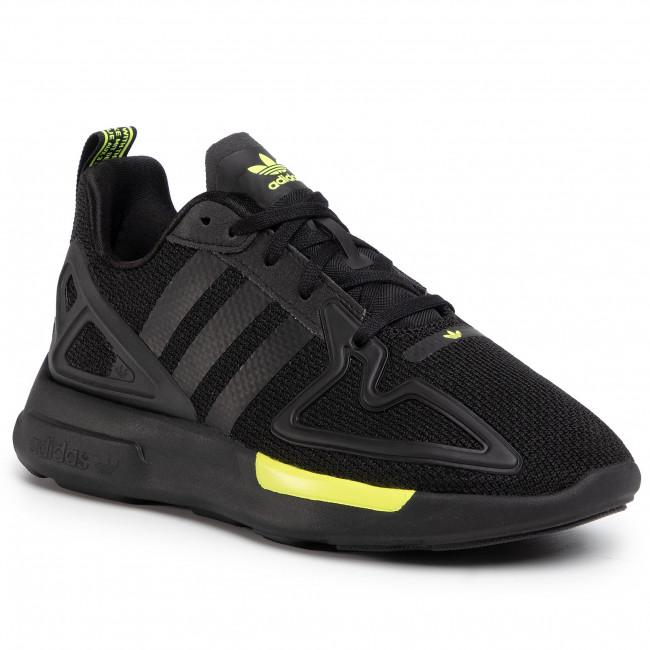 Footwear adidas - Zx 2K Flux FV8551  Cblack/Cblack/Syello