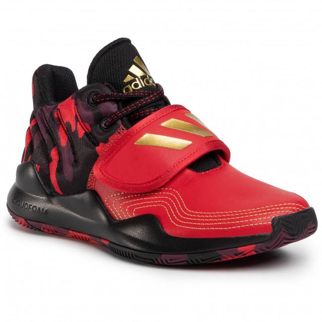 Footwear adidas - Deep Threat J FV2276  Scarle/Goldmt/Cblack