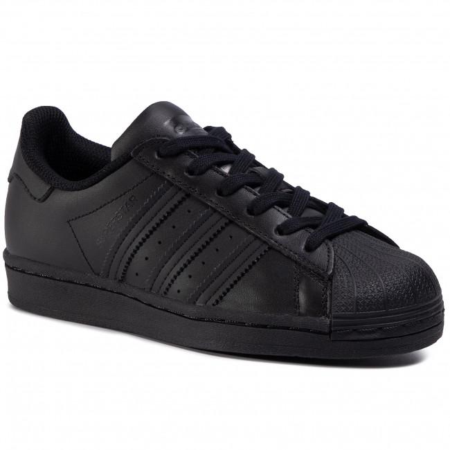 Footwear adidas - Superstar J FU7713 Cblack/Cblack/Cblack