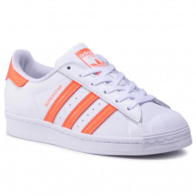 Footwear adidas - Superstar J FW3978 Ftwwht/Solred/Ftwwht