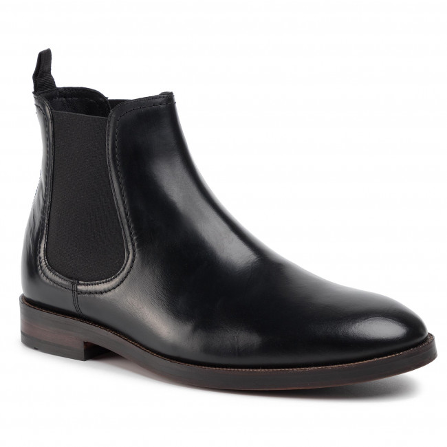 biggest discount look for amazing price Ankle Boots CLARKS - Oliver Top 261444627 Black Leather - Chelsea ...