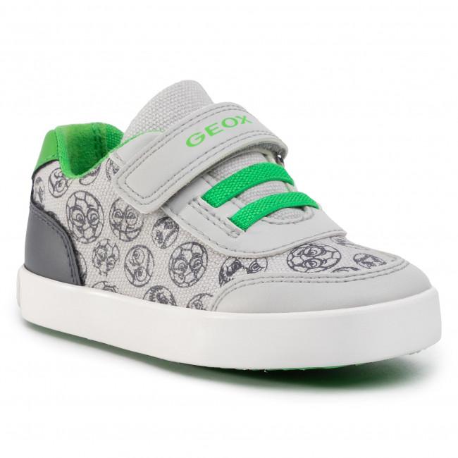 Sneakers GEOX - B Gisli B. A B021NA 05410 C0731 M Grey/Green