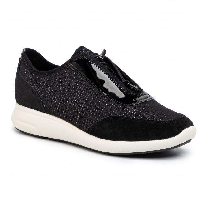 Sneakers GEOX D Ophira A D021CA 0EWHH C9999 Black MsNFH