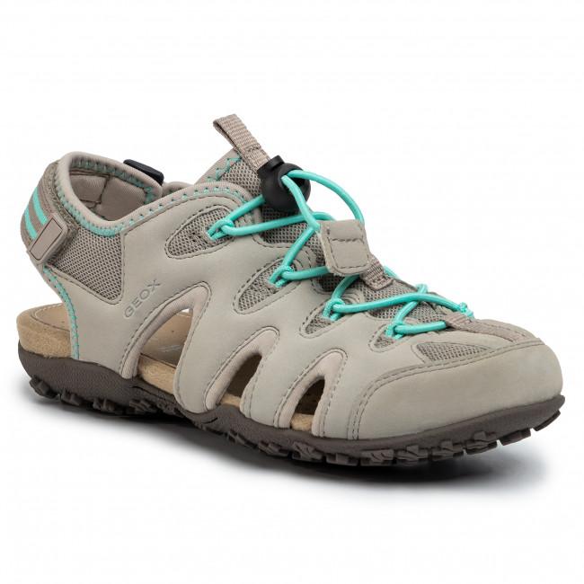 Sandals GEOX - D Sand. Strel B D0225B 0EK15 C1010 Lt Grey