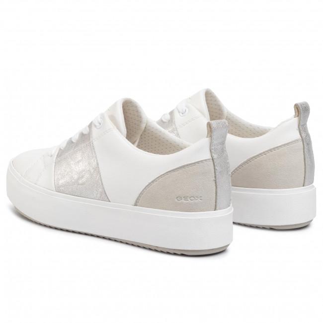 Sneakers GEOX D Blomiee H. A D02DZA 0BCBN C0007 WhiteSilver xkdjR