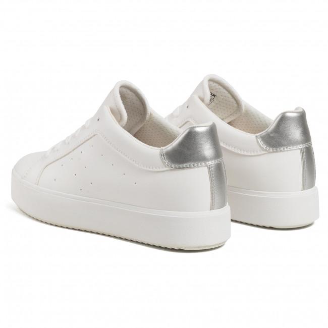 Construir sobre símbolo inalámbrico  Sneakers GEOX - D Blomiee H.B D02DZB 054AJ C1151 Optic White/Silver -  Sneakers - Low shoes - Women's shoes | efootwear.eu