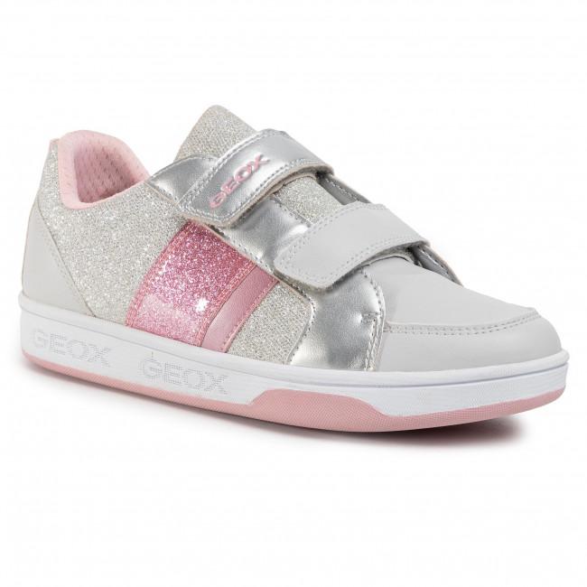 Sneakers GEOX J MAltin G. A J0200A 0NFKC C1028 D Lt GreyLt Pink