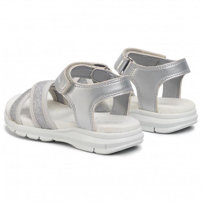 Sandals GEOX J S. Sukie G. B J020VB 0NFEW C1007 S Silver