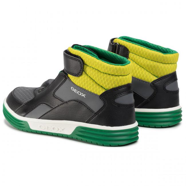 Sneakers GEOX J Argonat B.B J0229B 0FE14 C0802 DD BlackLime