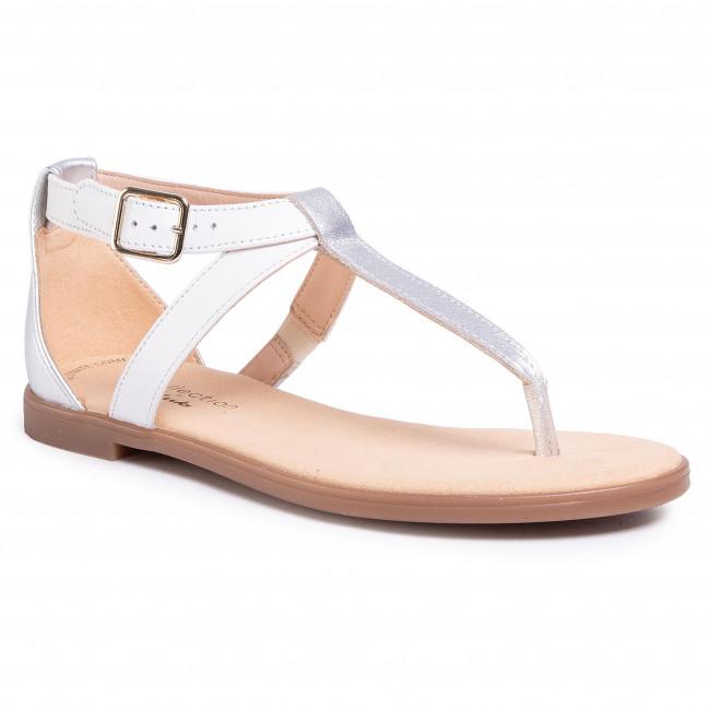 Sandals CLARKS - Bay Post 261493514  Wgite Interest