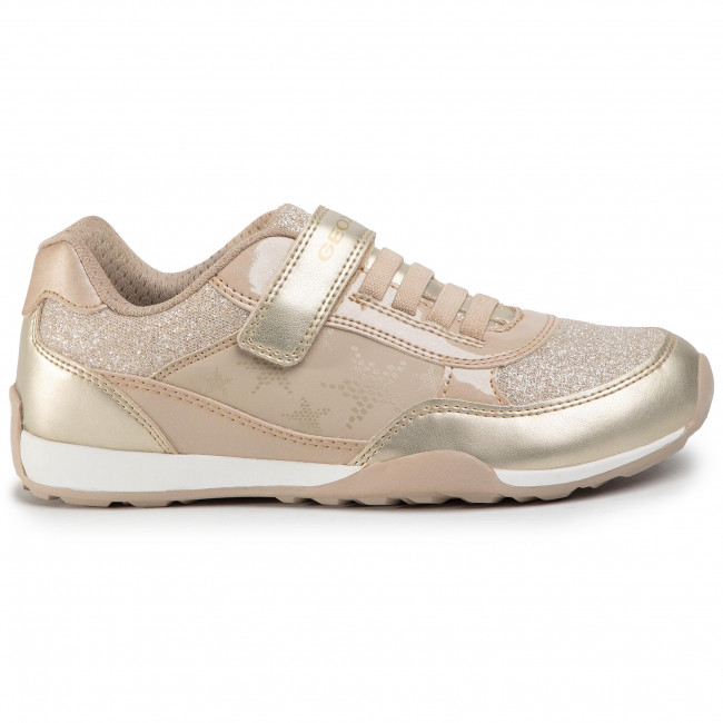 Jugando ajedrez Posibilidades Unidad  Sneakers GEOX - J Jocker Plus G.B J02AUB 0NFEW C0871 D Beige/Gold - Velcro  - Low shoes - Girl - Kids' shoes | efootwear.eu