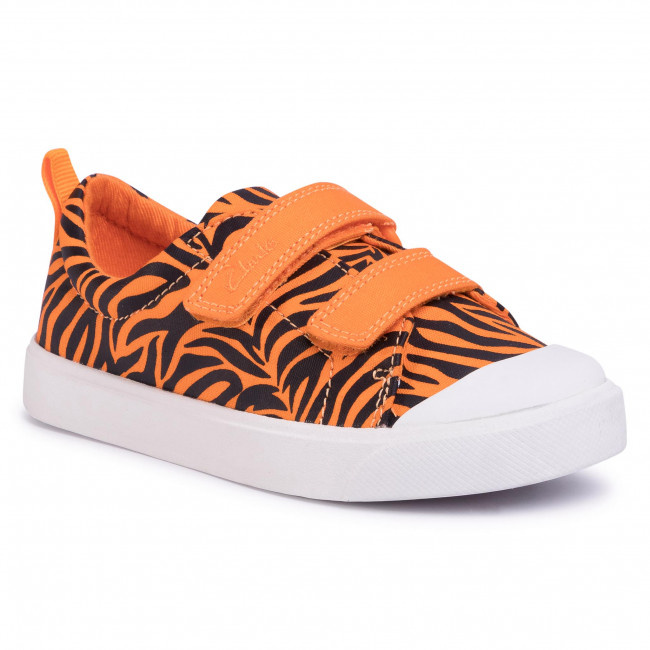 Sneakers CLARKS - City Bright T 261490997 Tiger Print