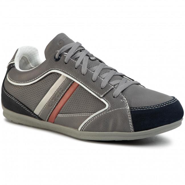 Sneakers GEOX - U Houston A U02P1A 000ME C1006 Grey
