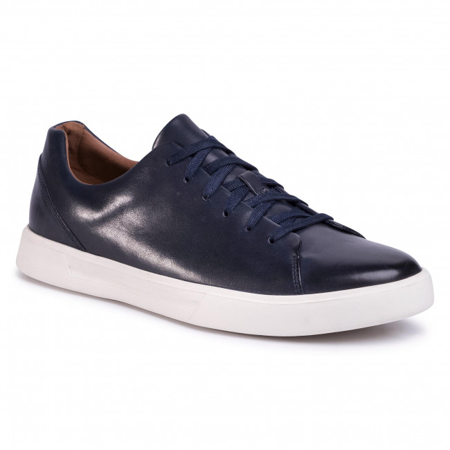 Sneakers CLARKS - Un Costa Lace 261485577 Navy Leather