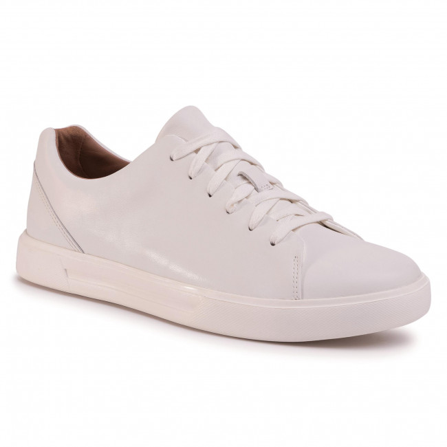tifón Infidelidad Último  Sneakers CLARKS - Un Costa Lace 261401647 White Leather - Sneakers - Low  shoes - Men's shoes | efootwear.eu