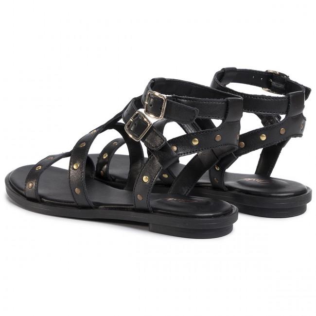 Sandalen CLARKS Willow Glad 261488074 Black Leather