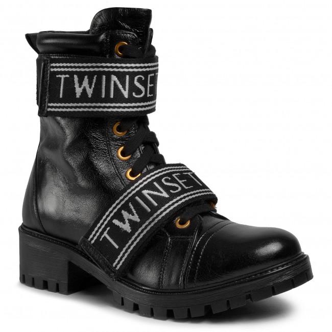 Hiking Boots TWINSET - Anfibio 201TCP132 Nero 00006