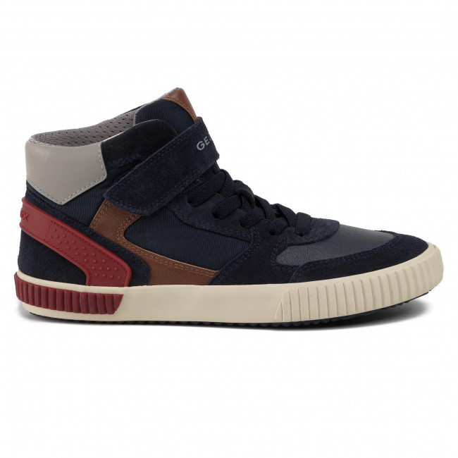 Sneakers GEOX J Alonisso B. H J942CH 0FU22 C0735 S NavyRed fXFpS