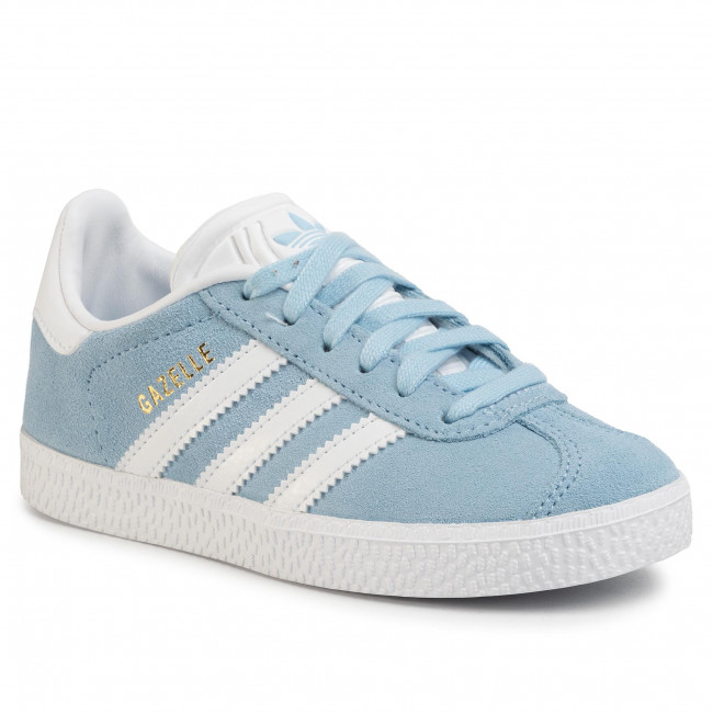 first rate lace up in wholesale outlet Shoes adidas - Gazelle C EG9943 Clesky/Ftwwht/Goldmt - Laced shoes ...