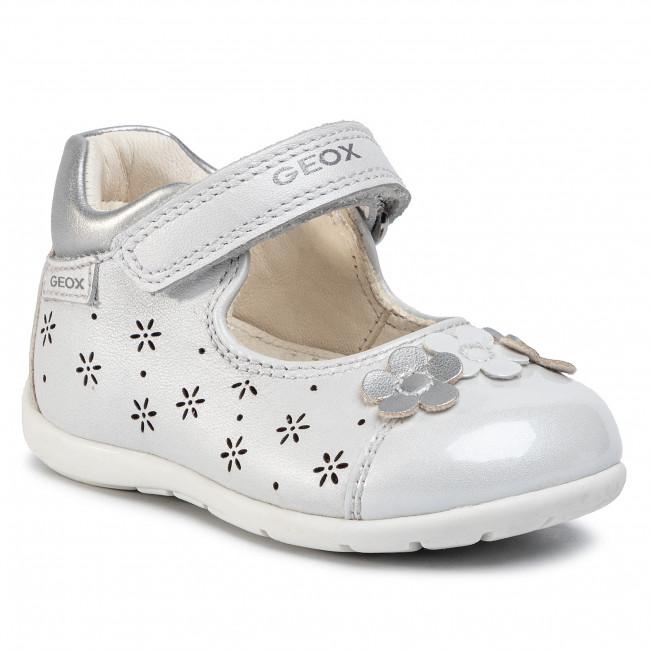 Shoes GEOX - B Kaytan G. B B0251B 044AJ C0007 White