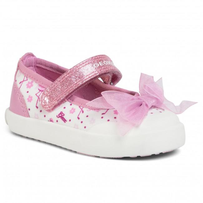 Shoes GEOX - B Kilwi G. E B02D5E 011BC C1364 M White/Dk Pink