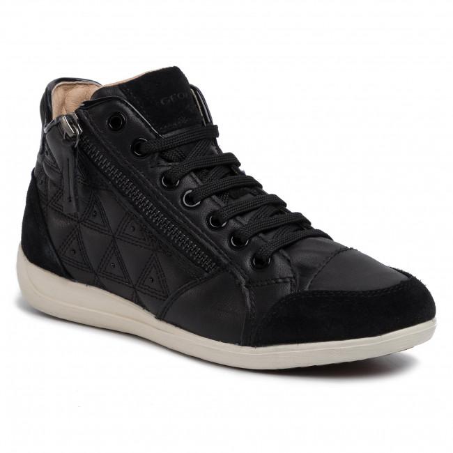 Sneakers GEOX D Myria B D0268B 08522 C9999 Black