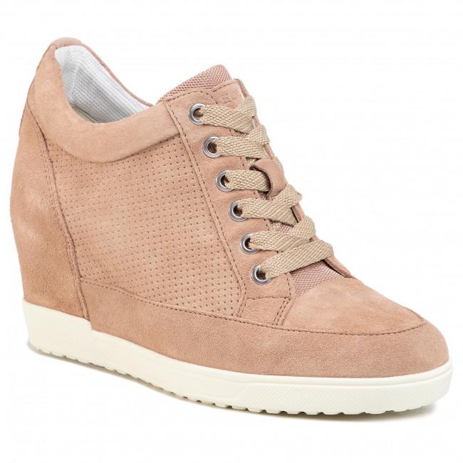 Sneakers GEOX D Carum C D02ASC 02214 C8191 Dk Skin kUy2W