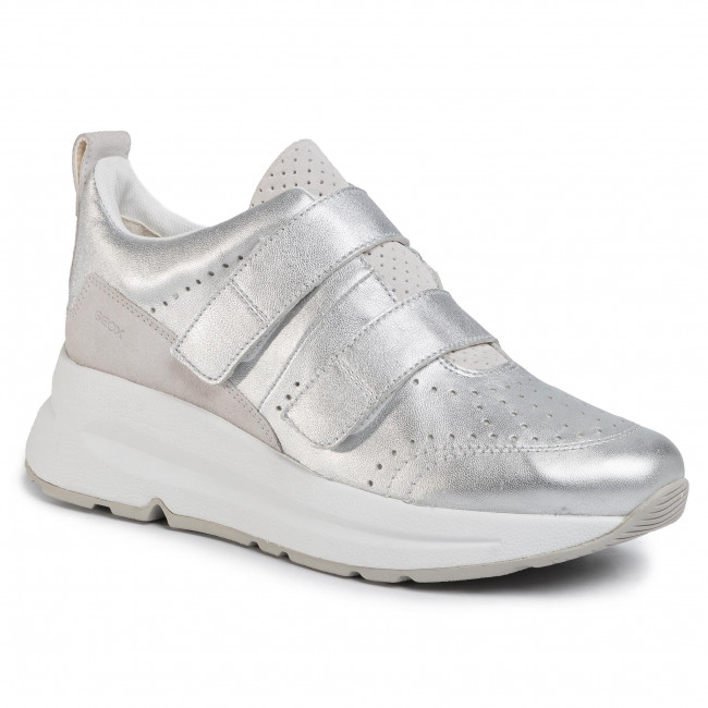 Sneakers GEOX - D Backsie B D02FLB 0KY22 C0434 Silver/White