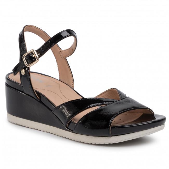 Sandals GEOX D Ischia C D02GTC 00067 C9999 Black