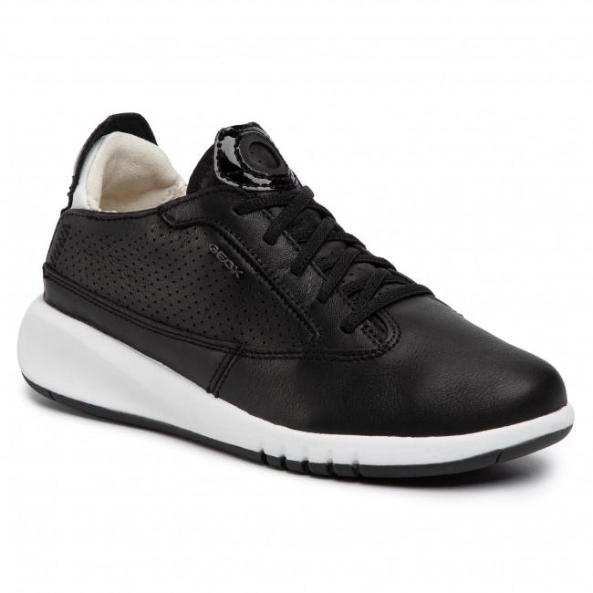Sneakers GEOX - D Aerantis A D02HNA 00085 C9999 Black