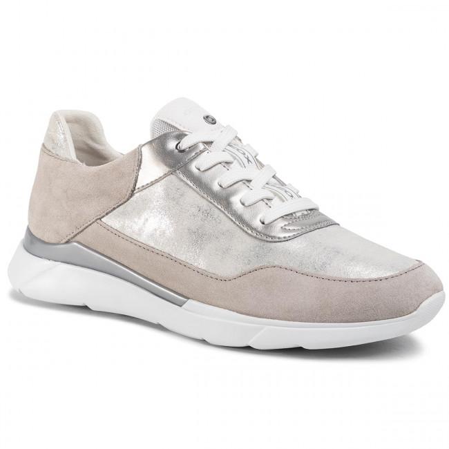 Sneakers GEOX D Omaya C D020SC 0PVBC C0898 SilverLt Grey