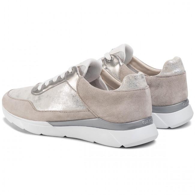 Sneakers GEOX D Hiver A D94FHA 07722 C0898 SilverLt Grey
