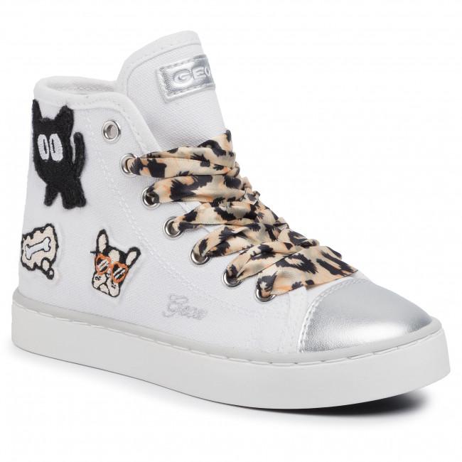 Sneakers GEOX J Ciak G J0204D 00010 C0405 S WhiteBeige