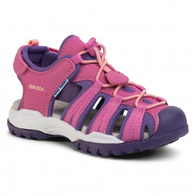 Sandals GEOX - J Borealis G. B J020WB 05015 C8370 S Fuchsia/Violet