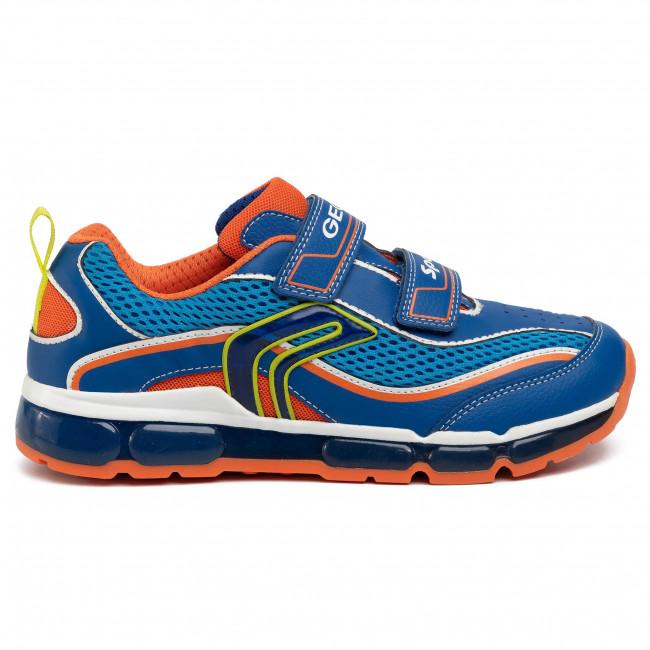Sneakers GEOX J Android B. C J0244C 014BU C0685 DD RoyalOrange oxmYl