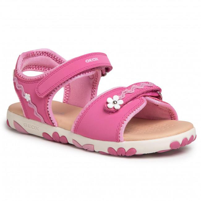 Sandals GEOX - J S.Haiti G. D J028ZD 05015 C8002 D Fuchsia