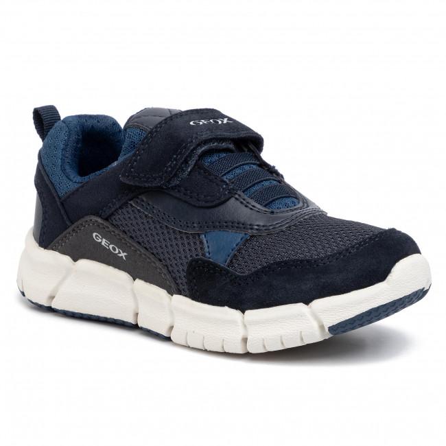 Sneakers GEOX - J Flexyper B. D J029BD 01422 C0700 M  Navy/Avio