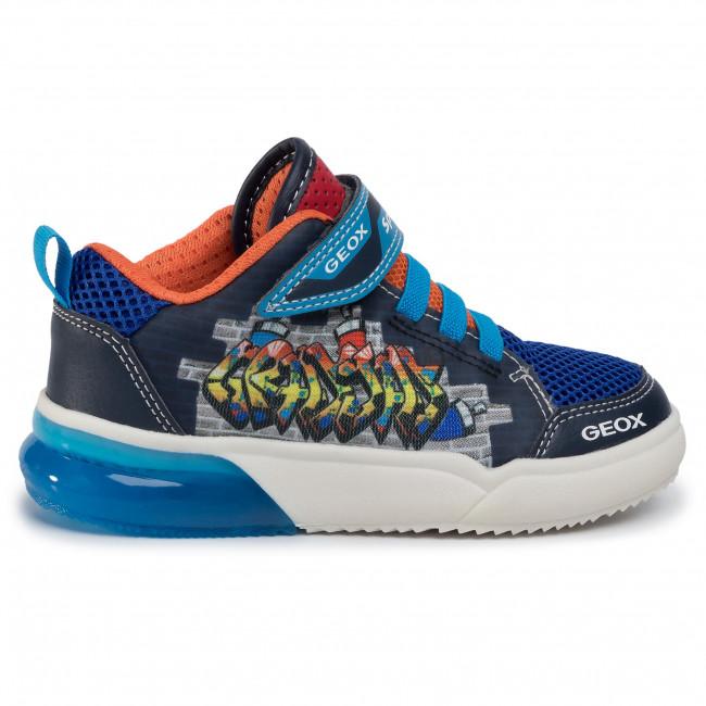 Sneakers GEOX J Grayjay B. D J029YD 014BU C0693 S NavyLt Blue stUT8