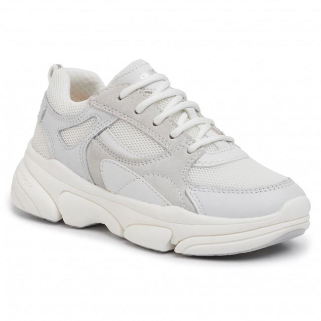 Sneakers GEOX - J Lunare G. D J02BGD 08514 C1000 M White