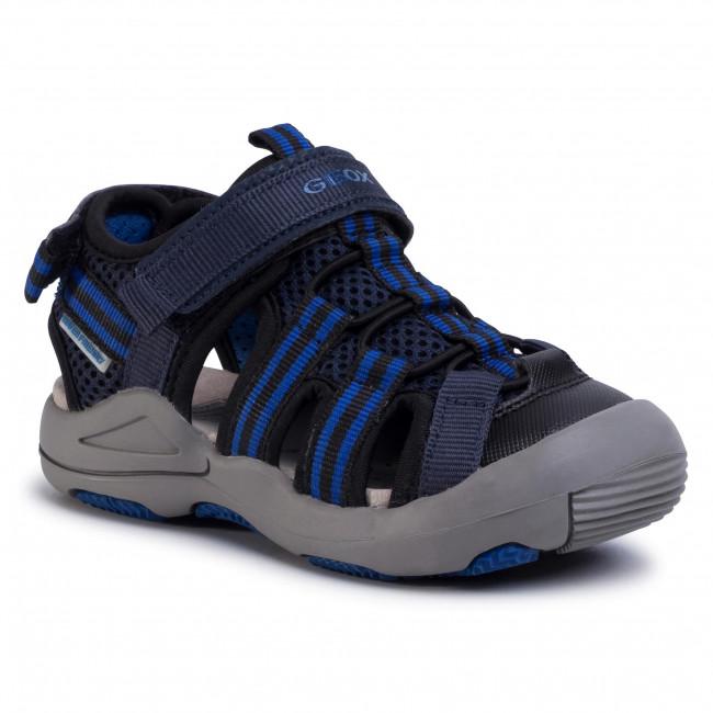 Sandals GEOX J Sandal Kyle A J02E1A 014CE C4226 M NavyRoyal