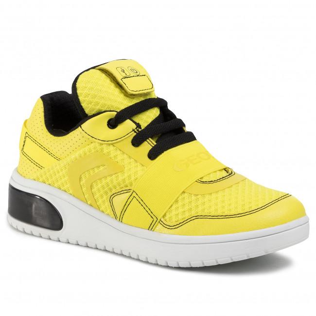 Sneakers GEOX - J Xled B.B J927QB 01454 C359B S Lime Green/Black