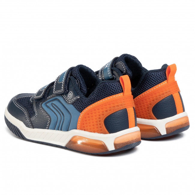 Sneakers GEOX J Inek B. D J949CD 0FE14 C0820 D NavyOrange