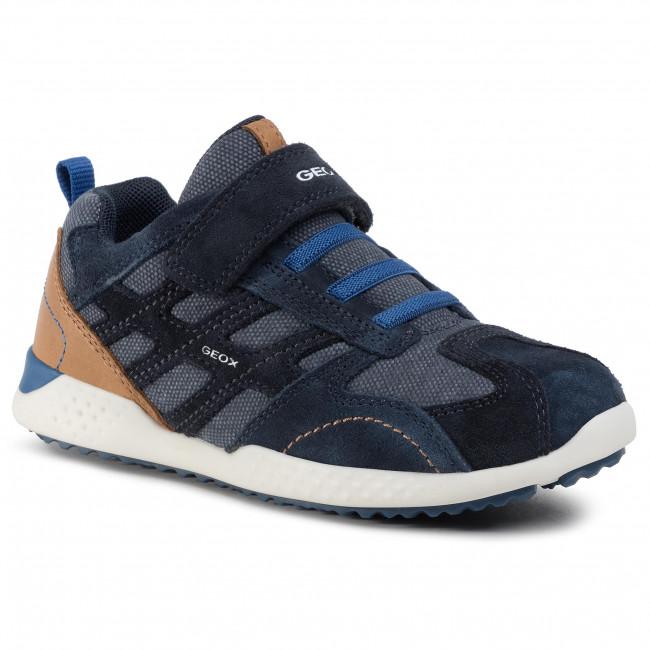 Sneakers GEOX J Snake.2.B. A J94ABA 02210 C4226 M NavyRoyal FLlnk