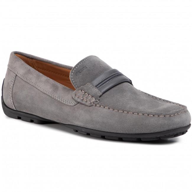 Moccasins GEOX U Moner A U0244A 00022 C1006 Grey