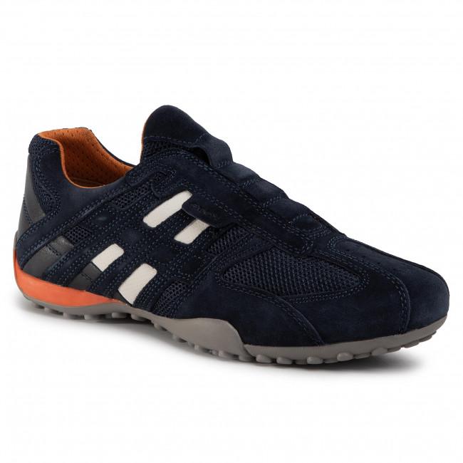 Shoes GEOX - U Snake L U4207L 02214 C4002 Navy