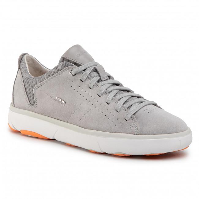 Shoes GEOX - U Nebula Y A U948FA 00022 C1010 Lt Grey