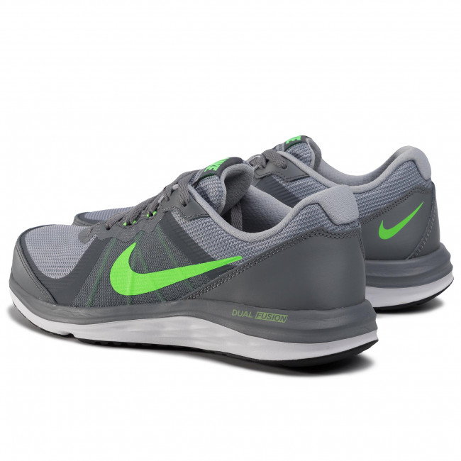 Comprensión Cerveza testimonio  Shoes NIKE - Dual Fusion X 2 (GS) 820305 003 Cool Grey/Vltg Grn/Wlf Gry/Wht  - Indoor - Running shoes - Sports shoes - Women's shoes | efootwear.eu