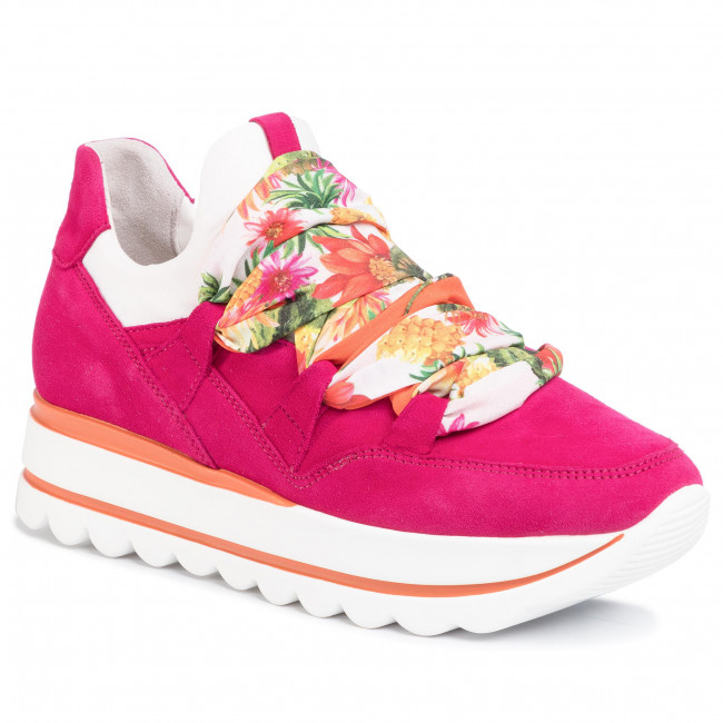 Sneakers GABOR 43.411.14 FuxiaWeissMulti