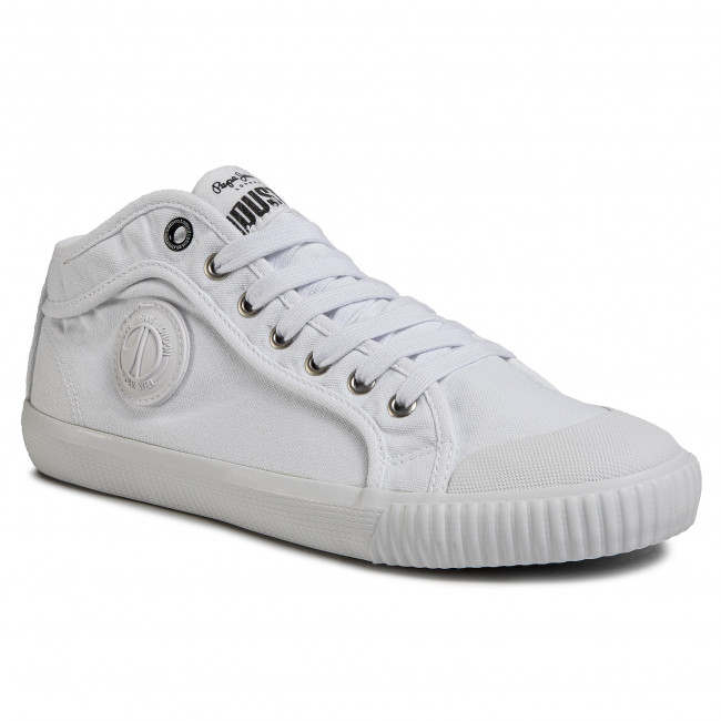 Sneakers PEPE JEANS - Industry Classic PMS30628 White 800