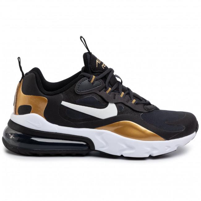 Shoes NIKE Air Max 270 React (GS) BQ0103 005 AnthraciteWhiteBlack